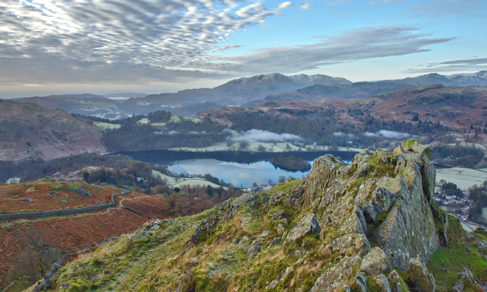 Grasmere from Grey Crag
