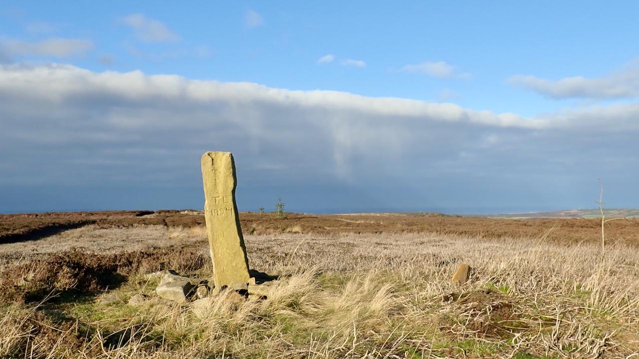 Boundary Stone, Great Ayton Moor