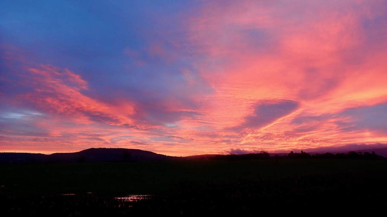 Easby Moor sunrise
