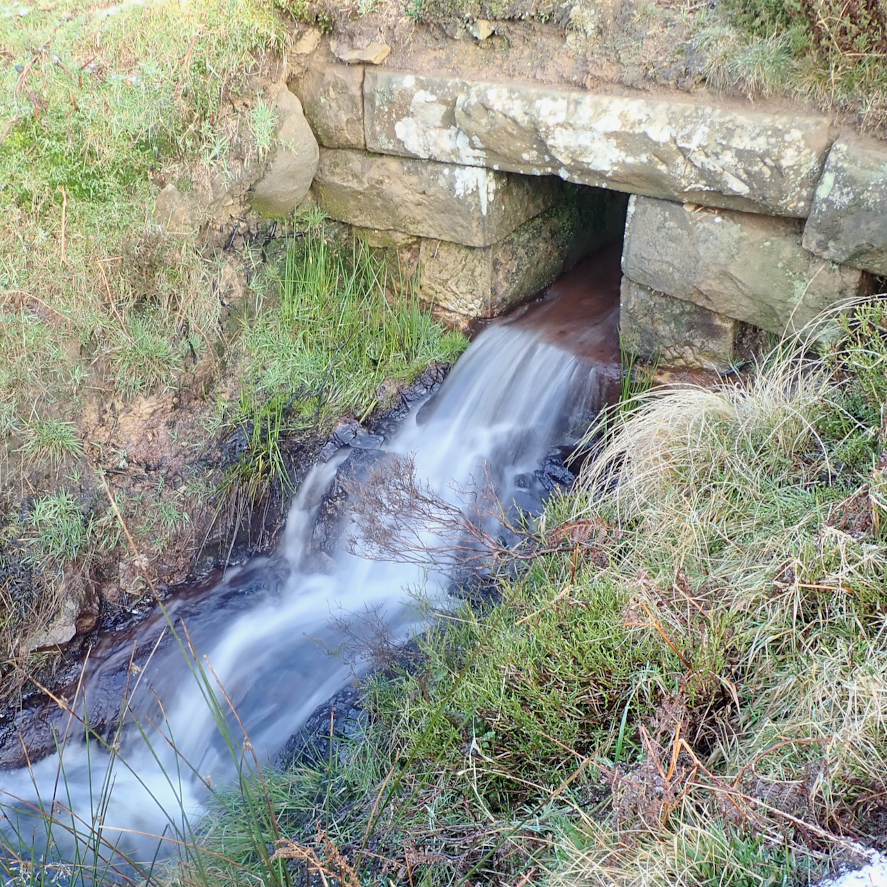Culvert outflow