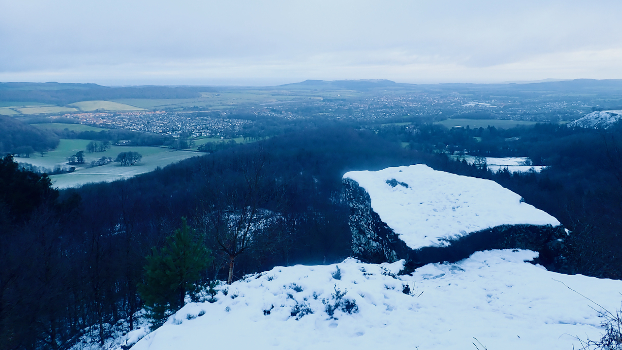 Guisborough from the Hanging Stone