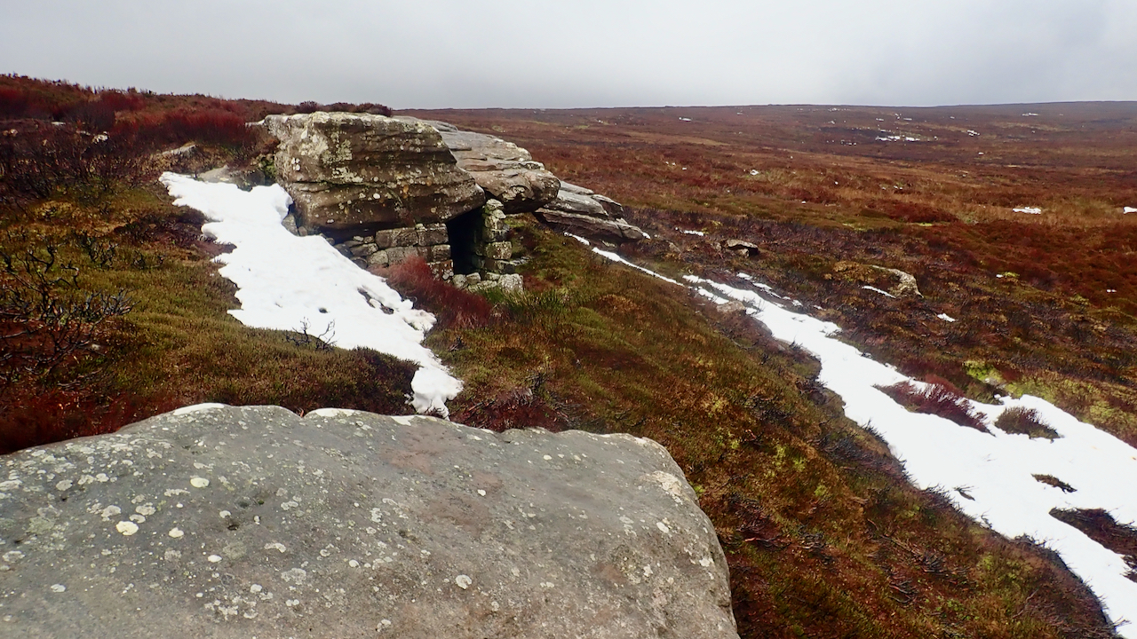 Great Hograh Moor - rock outcrop