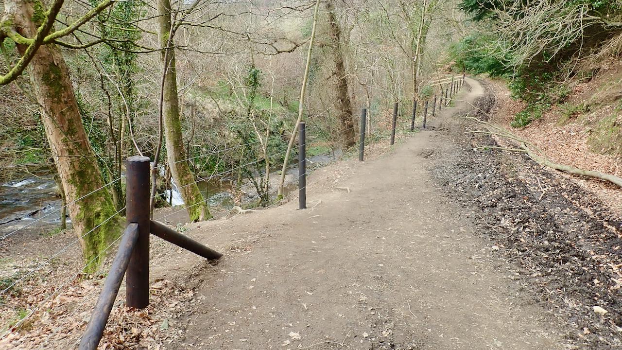 Old Meggison track