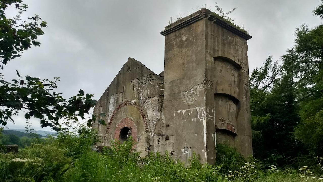Guibal fanhouse, Skelton Shaft iron mine