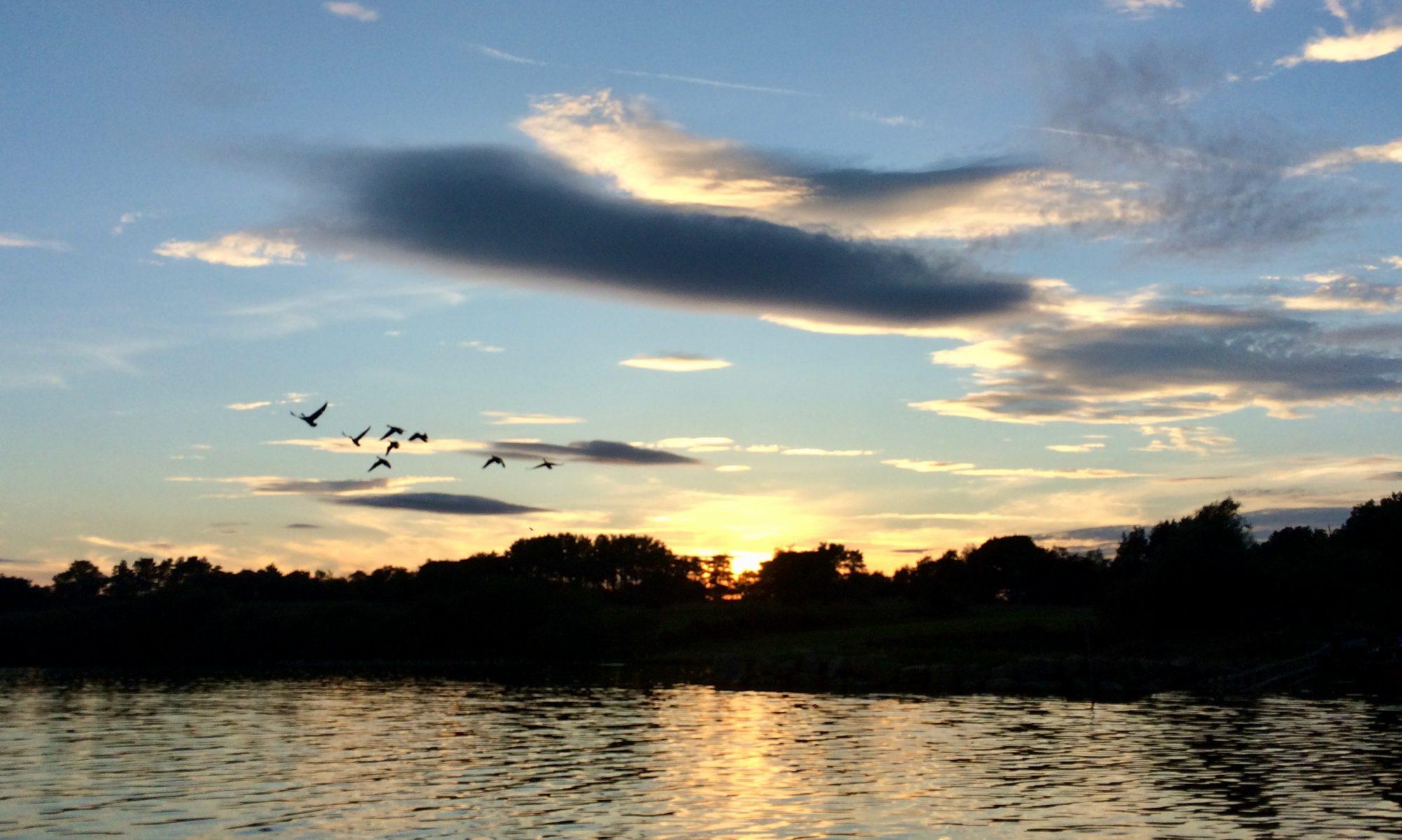 Sunset, Scaling Dam Reservoir